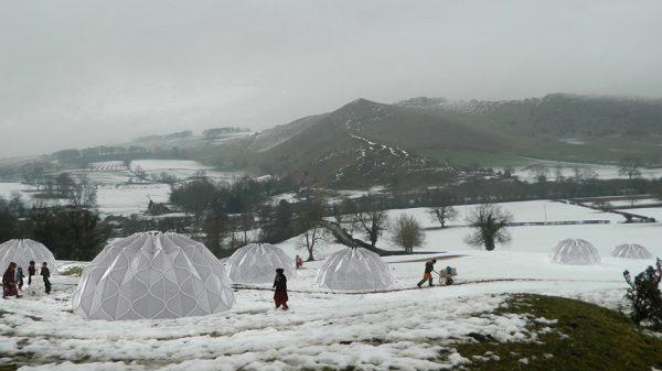 tenda rifugio ecosostenibile migrazione