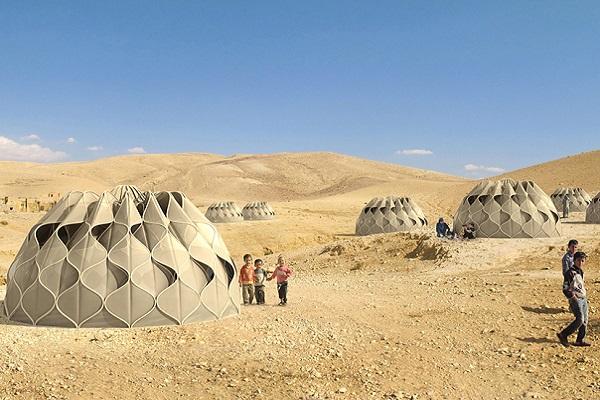 rifugio ecosostebile tenda migrazione