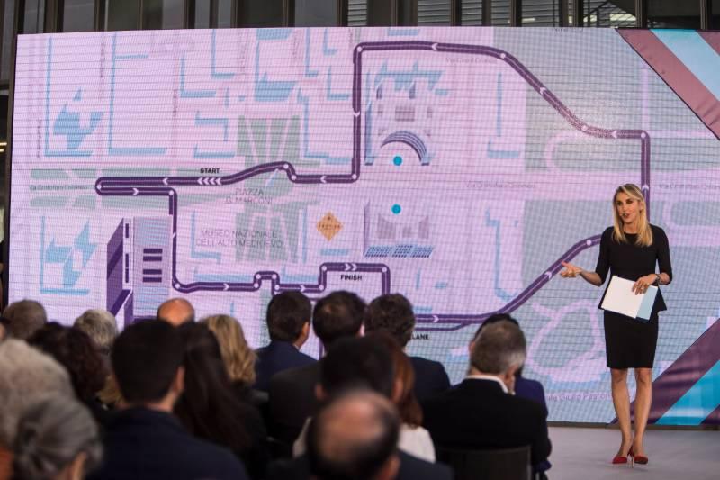 Eur, conferenza stampa Formula E