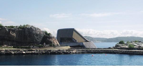 under norvegia ristorante subaqcqueo