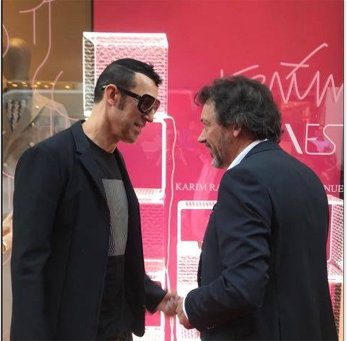 VESTA Solid Party_sx. Karim Rashid dx-Gabriele-Sabbatini-CEO-Vesta-
