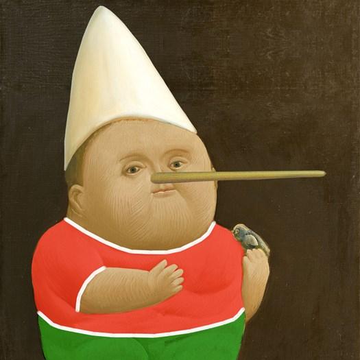 """Pinocchio """"Botero"""""""