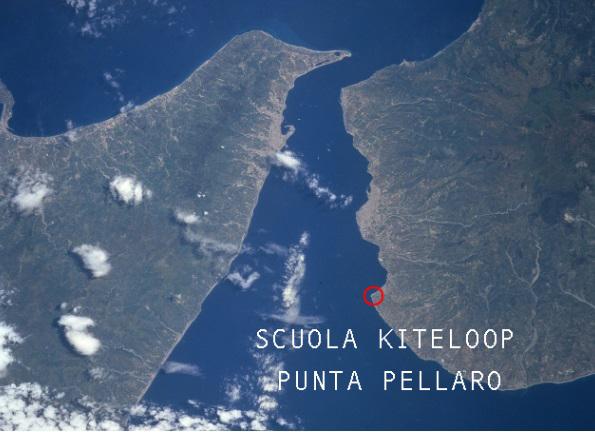 Punta Pellaro - satellitare