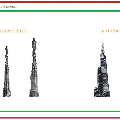 dubai 2020 expo logo italia