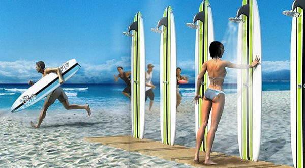 surf chair the wave sedia