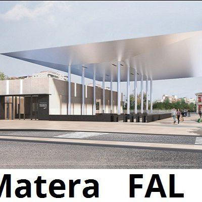 render Stazione Ferroviaria di Matera Centrale - Stefano Boeri Architetti