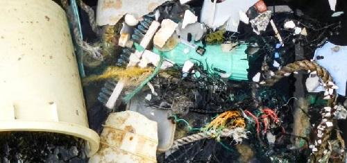 isola plastica garbage vortex oceani