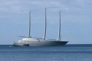 Sailing Yacht A Philippe Stark