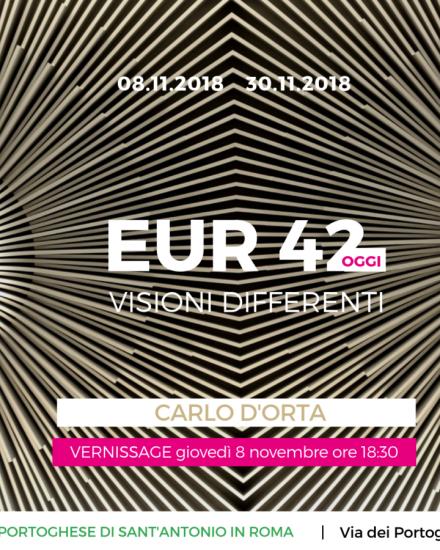 CARLO D'ORTA VISIONI DIFFERENTI EUR 42