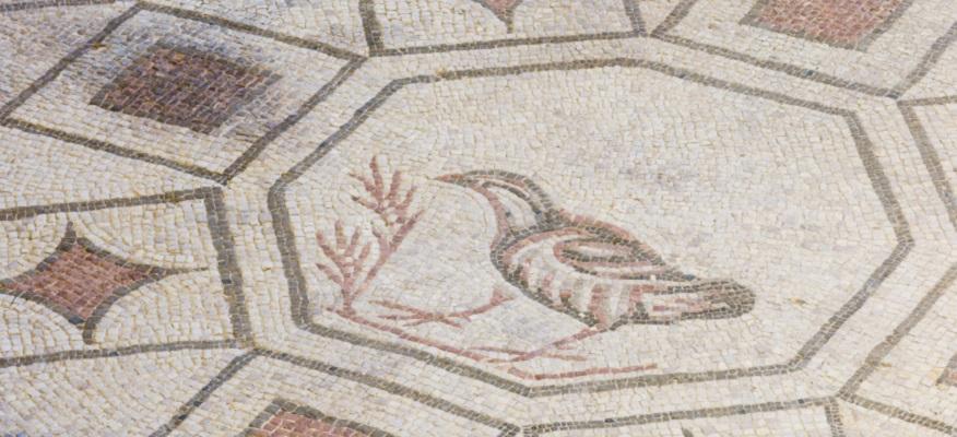 villa mosaici spello umbria