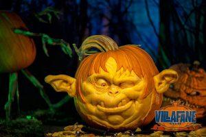 ray villafane sculture zucca halloween