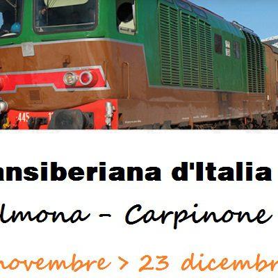 Transiberiana Dabruzzo Calendario 2020.In Partenza La Transiberiana D Italia Il Treno Storico Dei