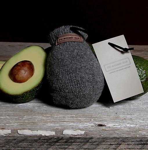 avocado sock utensile cucina