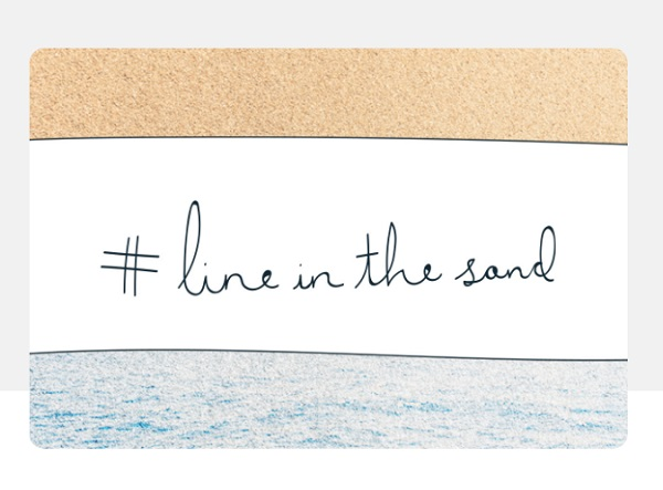 line sand novamont Ellen MacArthur