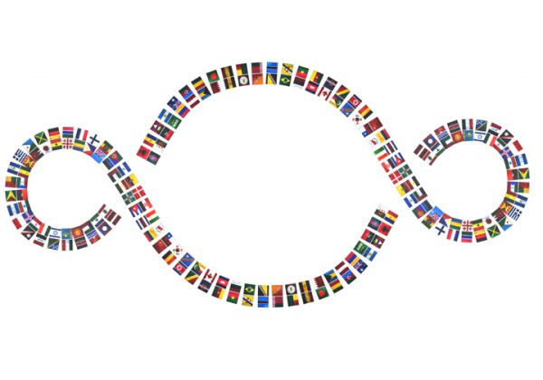 la bandiera del mondo pistoletto savarese macro