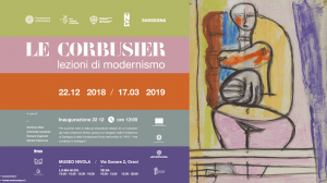 lecorcusier nivola lezioni modernismo