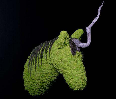 sculture verdi pareti vegetali greenaerea