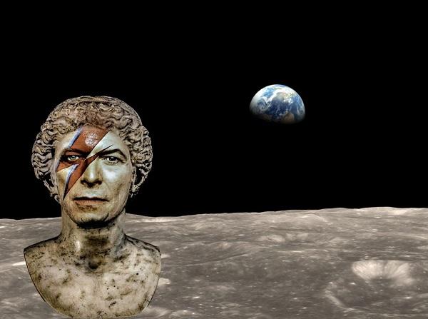 David Bowie spazio cima dante guerrieri