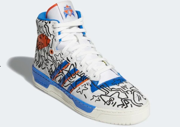 keith haring adidas rivalry