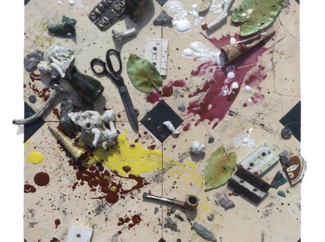 booming green arte esplosione
